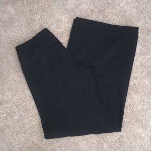 Lululemon black snap bell bottom comfy pants 😛